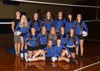 Valley Christian Panthers Girls Varsity Volleyball Fall 18-19 team photo.