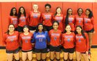 Pascagoula Panthers Girls Varsity Volleyball Fall 18-19 team photo.