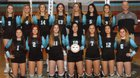 Pueblo West Cyclones Girls Varsity Volleyball Fall 18-19 team photo.