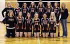 Burlington Huskies Girls Varsity Volleyball Fall 18-19 team photo.