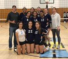 High Tech SD  Girls Varsity Volleyball Fall 18-19 team photo.