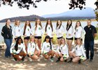 Ontario Christian Knights Girls Varsity Volleyball Fall 18-19 team photo.
