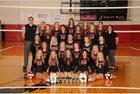 Pea Ridge Blackhawks Girls Varsity Volleyball Fall 18-19 team photo.