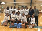 Tennyson Lancers Girls Varsity Volleyball Fall 18-19 team photo.