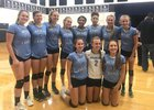 Wesley Chapel Wildcats Girls Varsity Volleyball Fall 18-19 team photo.