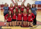 Twin Lakes Indians Girls Varsity Volleyball Fall 18-19 team photo.
