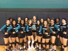 West Port Wolf Pack Girls Varsity Volleyball Fall 18-19 team photo.