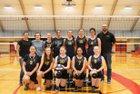 Pope John Paul II Eagles Girls Varsity Volleyball Fall 18-19 team photo.