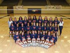 Rogers Heritage War Eagles Girls Varsity Volleyball Fall 18-19 team photo.