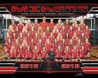 Park City Miners Girls Varsity Volleyball Fall 18-19 team photo.