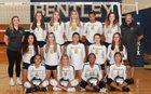 Bentley Phoenix Girls Varsity Volleyball Fall 18-19 team photo.