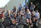 Redeemer Christian Lions Girls Varsity Volleyball Fall 18-19 team photo.