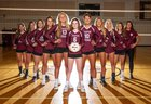 Tarpon Springs Spongers Girls Varsity Volleyball Fall 18-19 team photo.