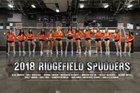 Ridgefield Spudders Girls Varsity Volleyball Fall 18-19 team photo.