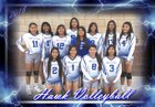 Laguna Acoma Hawks Girls Varsity Volleyball Fall 18-19 team photo.