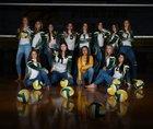 Pueblo County Hornets Girls Varsity Volleyball Fall 18-19 team photo.