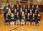 Scarsdale Raiders Girls Varsity Volleyball Fall 18-19 team photo.