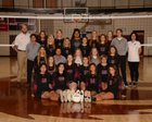 Lincoln Wolves Girls Varsity Volleyball Fall 18-19 team photo.