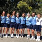 More Knights Girls Varsity Volleyball Fall 18-19 team photo.