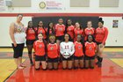 Rogers Rams Girls Varsity Volleyball Fall 18-19 team photo.