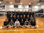 Bishop Carroll Huskies Girls Varsity Volleyball Fall 18-19 team photo.