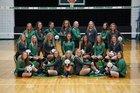 Cloverdale Clovers Girls Varsity Volleyball Fall 18-19 team photo.