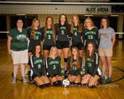 Vincennes Lincoln Alices Girls Varsity Volleyball Fall 18-19 team photo.
