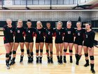 Aspen Skiers Girls Varsity Volleyball Fall 18-19 team photo.