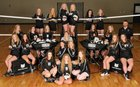 Bauxite Miners Girls Varsity Volleyball Fall 18-19 team photo.