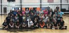 Burns Broncs Girls Varsity Volleyball Fall 18-19 team photo.
