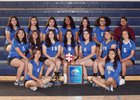 Lakeview Charter Lions Girls Varsity Volleyball Fall 18-19 team photo.