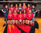 Scottsdale Christian Academy Eagles Girls Varsity Volleyball Fall 18-19 team photo.