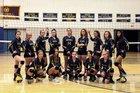 Greybull Buffaloes Girls Varsity Volleyball Fall 18-19 team photo.