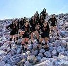 La Junta Tigers Girls Varsity Volleyball Fall 18-19 team photo.