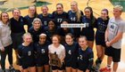 St. Michael the Archangel Guardians Girls Varsity Volleyball Fall 18-19 team photo.