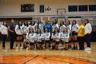 Navajo Prep Eagles Girls Varsity Volleyball Fall 18-19 team photo.