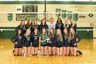 St. Petersburg Green Devils Girls Varsity Volleyball Fall 18-19 team photo.