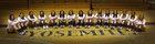 Yosemite Badgers Girls Varsity Volleyball Fall 18-19 team photo.