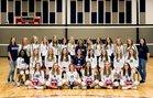 Baptist Prep Eagles Girls Varsity Volleyball Fall 18-19 team photo.