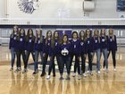 Bellevue East Chieftains Girls Varsity Volleyball Fall 18-19 team photo.