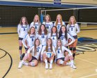 Rogers Royals Girls Varsity Volleyball Fall 18-19 team photo.