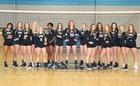 Community School of Davidson Spartans Girls Varsity Volleyball Fall 18-19 team photo.