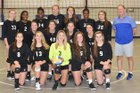 Vance Charter School Knights Girls Varsity Volleyball Fall 18-19 team photo.