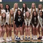 Creekview Grizzlies Girls Varsity Volleyball Fall 18-19 team photo.