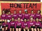 Eunice Cardinals Girls Varsity Volleyball Fall 18-19 team photo.