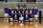 Booneville Bearcats Girls Varsity Volleyball Fall 18-19 team photo.