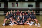 George Ranch Longhorns Girls Varsity Volleyball Fall 18-19 team photo.