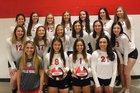Brookland Bearcats Girls Varsity Volleyball Fall 18-19 team photo.