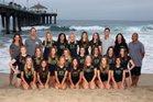 Mira Costa Mustangs Girls Varsity Volleyball Fall 18-19 team photo.