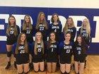 Kohler Blue Bombers Girls Varsity Volleyball Fall 18-19 team photo.